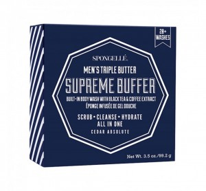 Spongelle Mens Supreme Buffer