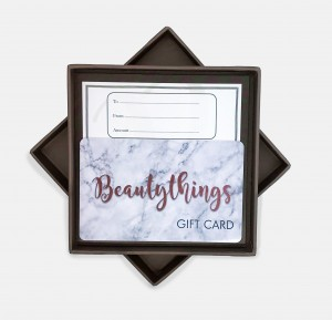 Beautythings Boxed GIFT CARD £10