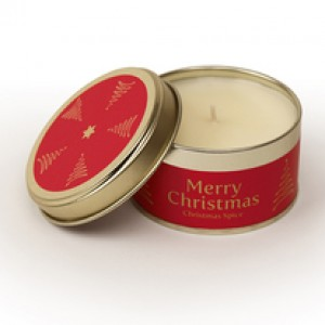 Pintail Merry Christmas Candle - Christmas Spice