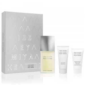 L'eau D'issey by Issey Miyake Pour Homme Gift Set 100ml EDT