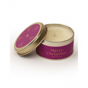 Pintail Merry Christmas Candle - Mulled Wine
