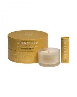 Scentered Be Happy Therapy Balm Travel Set