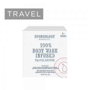 Spongelle TRAVEL Body Buffer - Coconut