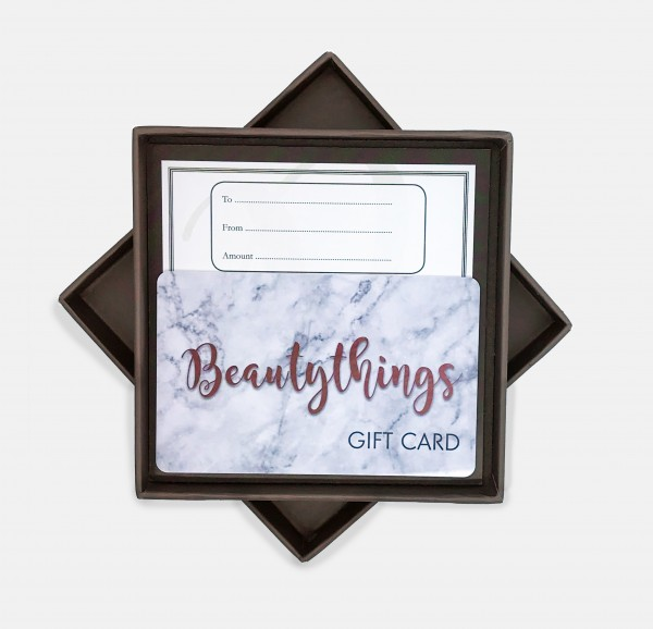 Beautythings Boxed GIFT CARD £30